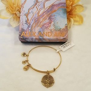 Alex and Ani Anchor II Bangle